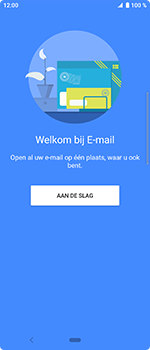 Sony Xperia 10 - E-mail - handmatig instellen (outlook) - Stap 4