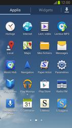 Samsung Galaxy S3 4G - Contact, Appels, SMS/MMS - Envoyer un SMS - Étape 3