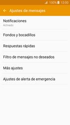Samsung Galaxy A3 (2016) - Mensajería - Configurar el equipo para mensajes de texto - Paso 6