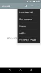 HTC One A9 - Mensajería - Configurar el equipo para mensajes de texto - Paso 6