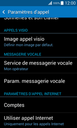 Samsung G355 Galaxy Core 2 - Messagerie vocale - Configuration manuelle - Étape 5