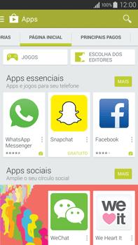 Samsung N910F Galaxy Note 4 - Aplicativos - Como baixar aplicativos - Etapa 5