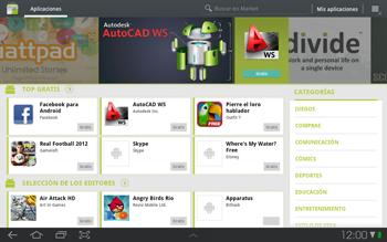 Samsung P7500 Galaxy Tab 10-1 - Aplicaciones - Descargar aplicaciones - Paso 4