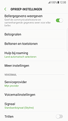 Samsung Galaxy S6 Edge - Android Nougat - Voicemail - handmatig instellen - Stap 7