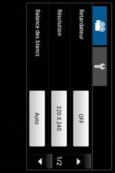 Samsung Galaxy Ace - Photos, vidéos, musique - Créer une vidéo - Étape 7