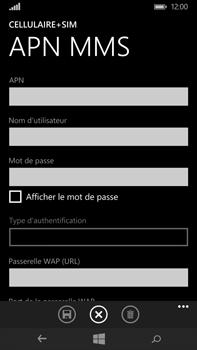 Microsoft Lumia 640 XL - MMS - Configuration manuelle - Étape 8