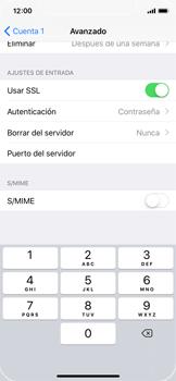 Apple iPhone X - E-mail - Configurar correo electrónico - Paso 24