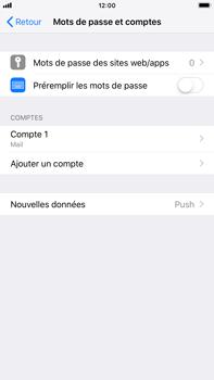 Apple iPhone 7 Plus - iOS 12 - E-mail - Configurer l