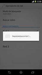 Sony Xperia Z1 - Red - Seleccionar una red - Paso 9