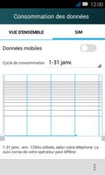 Huawei Y3 - Internet - activer ou désactiver - Étape 7