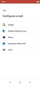 Motorola One - Email - Como configurar seu celular para receber e enviar e-mails - Etapa 7