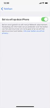 Apple iPhone X - Bellen - WiFi Bellen (VoWiFi) - Stap 7