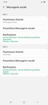 Samsung Galaxy A50 - Messagerie vocale - configuration manuelle - Étape 9