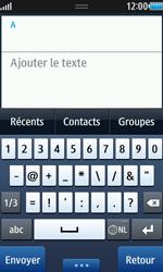 Samsung Wave 2 - Contact, Appels, SMS/MMS - Envoyer un MMS - Étape 4