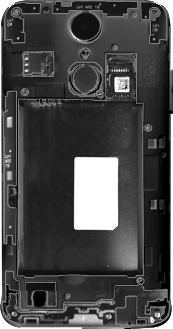 LG K4 (2017) - Primeros pasos - Quitar y colocar la batería - Paso 3