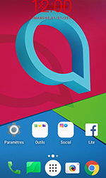 Alcatel U3 - Applications - Personnaliser l