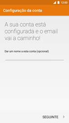 NOS NOVU II - Email - Adicionar conta de email -  11