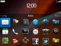 BlackBerry 9900 Bold Touch - E-mail - hoe te versturen - Stap 3