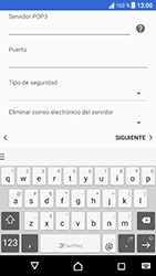 Sony Xperia XZ - Android Nougat - E-mail - Configurar correo electrónico - Paso 15