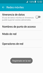 Samsung Galaxy J1 (2016) (J120) - Red - Seleccionar una red - Paso 10