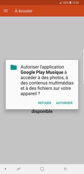 Samsung Galaxy S9 Plus - Photos, vidéos, musique - Ecouter de la musique - Étape 5