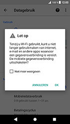 Sony Xperia XZ - Android Oreo - Internet - aan- of uitzetten - Stap 7