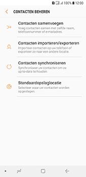Samsung galaxy-a6-sm-a600fn-ds - Contacten en data - Contacten kopiëren van toestel naar SIM - Stap 6