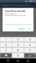 Sony Xperia XZ (F8331) - Sécuriser votre mobile - Personnaliser le code PIN de votre carte SIM - Étape 8
