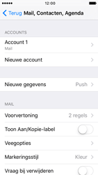 Apple iPhone SE - E-mail - Account instellen (IMAP zonder SMTP-verificatie) - Stap 27