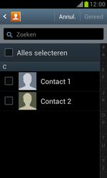Samsung S7560 Galaxy Trend - Contacten en data - Contacten kopiëren van SIM naar toestel - Stap 7
