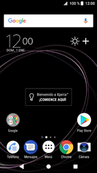Sony Xperia XZ1 - Funciones básicas - Activar o desactivar el modo avión - Paso 1