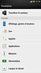 HTC Desire 601 - Messagerie vocale - configuration manuelle - Étape 5