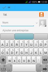 Alcatel Pixi 3 Dual Sim - Contact, Appels, SMS/MMS - Ajouter un contact - Étape 6