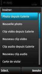 Nokia X6-00 - MMS - envoi d'images - Étape 11