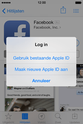 Apple iPhone 4 met iOS 7 - Applicaties - Account aanmaken - Stap 7