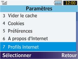 Samsung S3570 Chat 357 - Internet - configuration manuelle - Étape 18