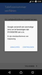 Sony Xperia XA - Applicaties - Account aanmaken - Stap 9