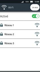 Doro 8031 - Internet et connexion - Accéder au réseau Wi-Fi - Étape 7