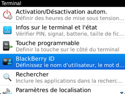 BlackBerry 9790 Bold - BlackBerry activation - BlackBerry ID activation - Étape 5