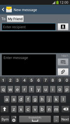 Samsung Galaxy S4 VE - Mms - Sending a picture message - Step 8