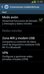 Samsung S7580 Galaxy Trend Plus - Funciones básicas - Activar o desactivar el modo avión - Paso 7