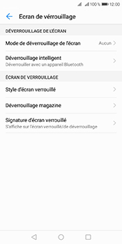 Huawei Y6 (2018) - Sécuriser votre mobile - Activer le code de verrouillage - Étape 5