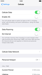 Apple iPhone 6 Plus - Internet - Disable data roaming - Step 4