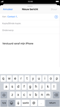 Apple Apple iPhone 6s Plus iOS 11 - E-mail - E-mails verzenden - Stap 6