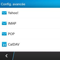 BlackBerry Q5 - E-mail - Configuration manuelle - Étape 7