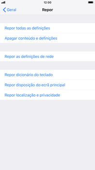 Apple iPhone 6s Plus - iOS 12 - Repor definições - Como repor definições de fábrica do telemóvel -  6