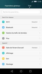 Huawei Carfi - Internet et connexion - Accéder au réseau Wi-Fi - Étape 3
