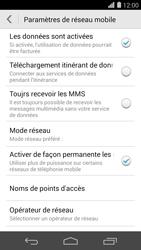 Huawei Ascend P7 - MMS - configuration manuelle - Étape 6