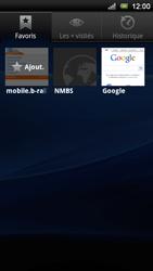 Sony Ericsson Xperia Neo V - Internet - Navigation sur internet - Étape 11