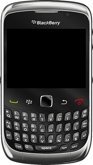 BlackBerry curve 3G - Premiers pas - Découvrir les touches principales - Étape 4